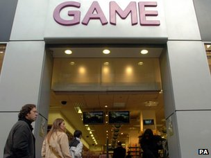 Game store - the chain has gone into administration