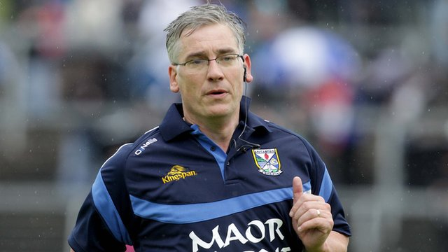 Cavan manager Van Andrews