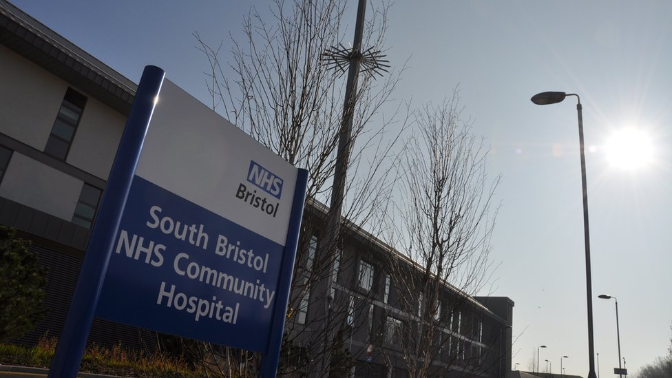 Bbc News In Pictures South Bristol Hospital Ready For