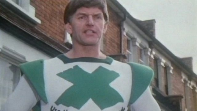 The Green Cross Man