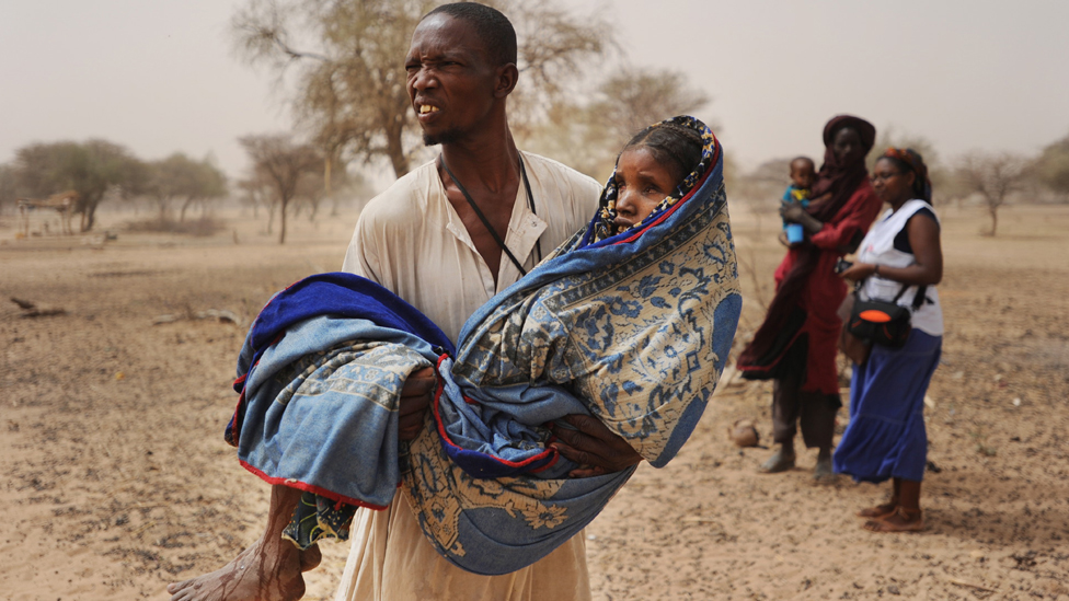 Boubacar And His Wife Mariama From The Village Kadago Biri In Niger Photo Doctors