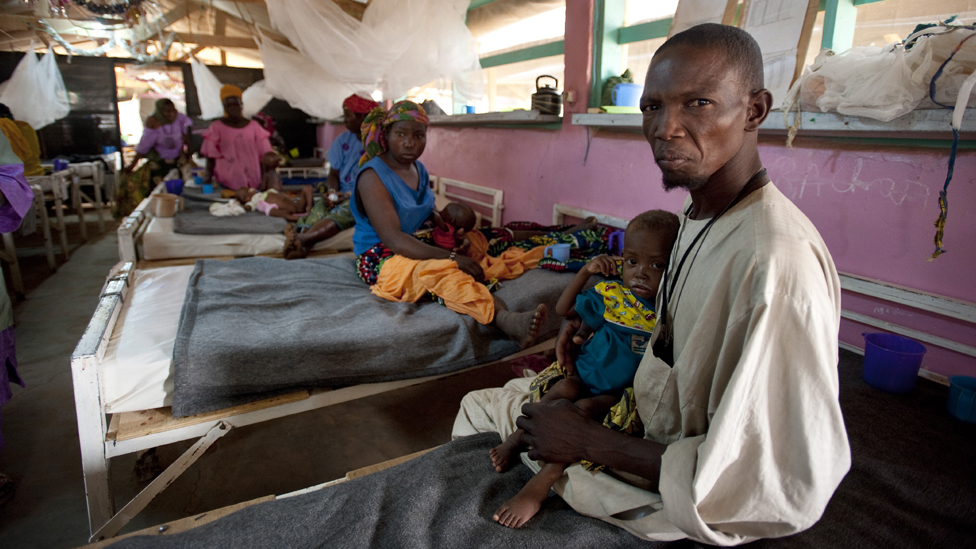 Boubacar And His Daughter Aicha Photo Doctors Without Borders Medecins Sans Frontieres