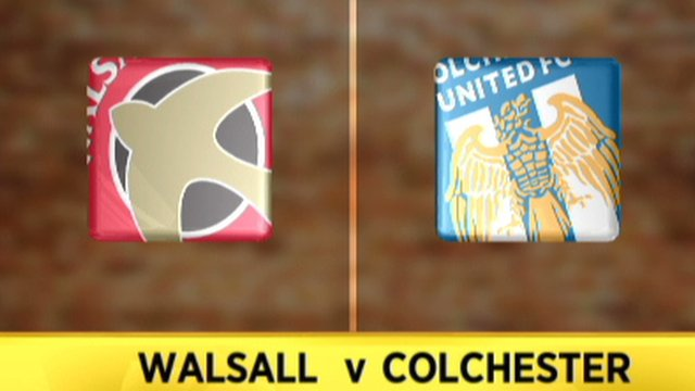 Walsall 3-1 Colchester