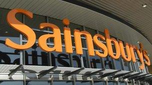 Siop Sainsbury's