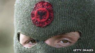 Macedonian ethnic Albanian rebel