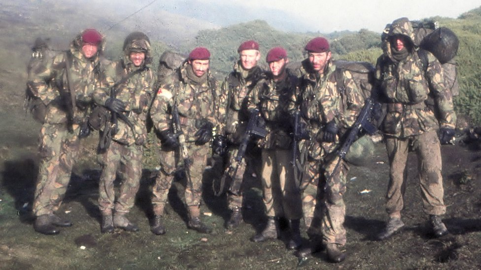 Bbc News A Medic S Pictures Of The Falklands War