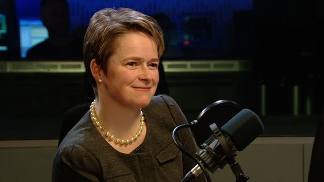 Dido Harding, chief executive of the TalkTalk Group