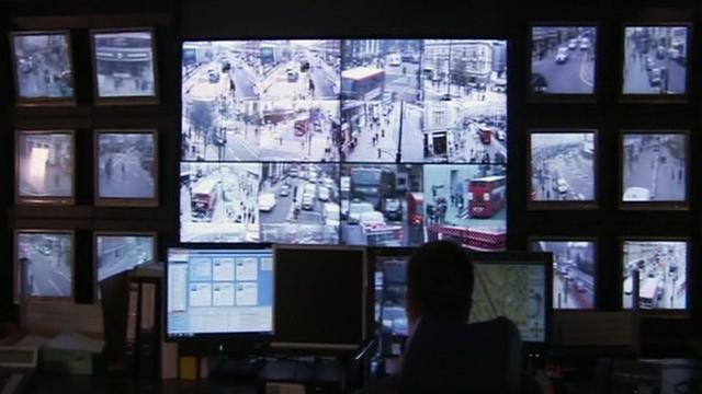 CCTV monitoring room