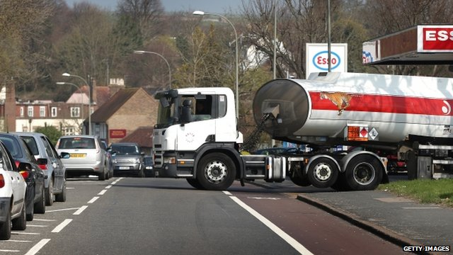 Petrol tanker
