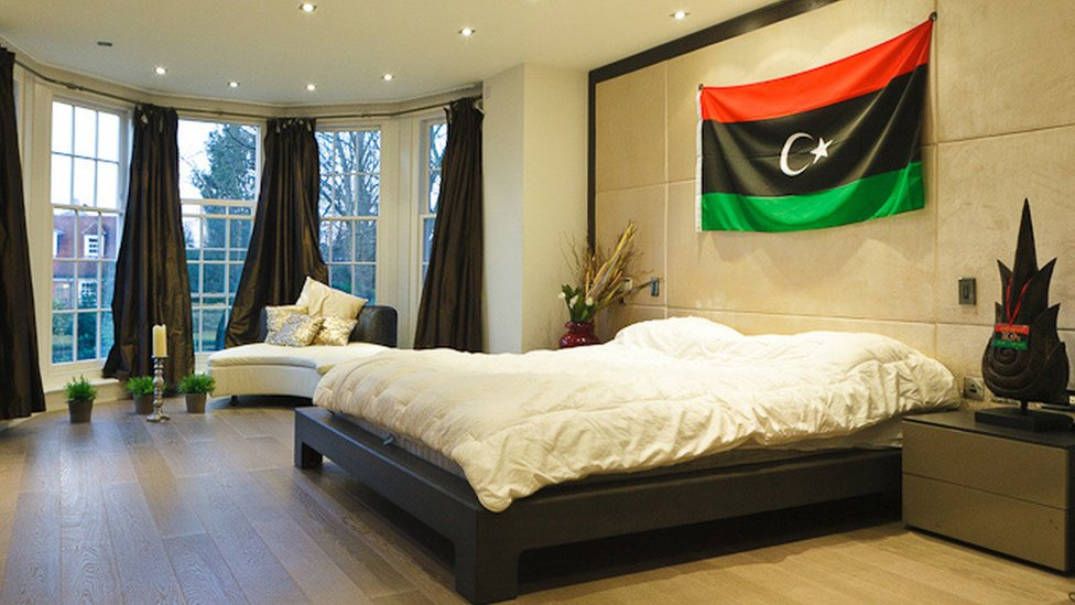 Bbc News In Pictures Saadi Gaddafi S London Mansion