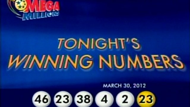 Mega Millions prize numbers