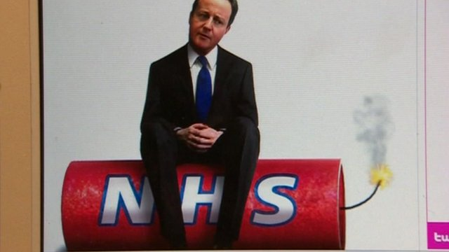 NHS cartoon graphic