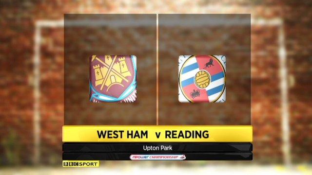 Highlights: West Ham 2-4 Reading