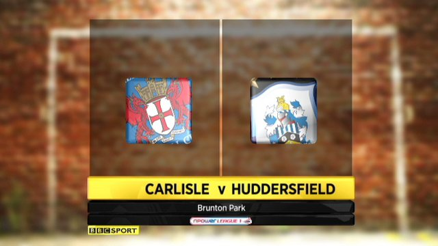 Carlisle 2-1 Huddersfield