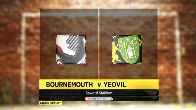 Bournemouth 0-0 Yeovil