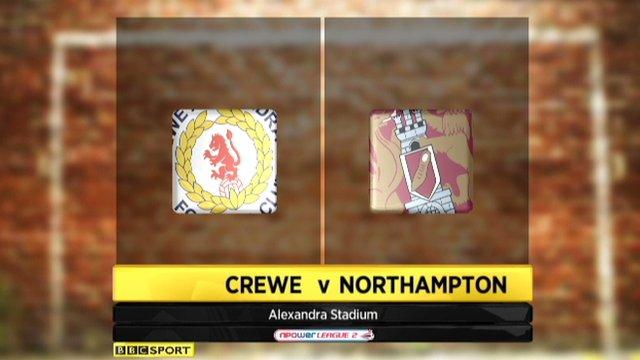 Crewe 1-1 Northampton