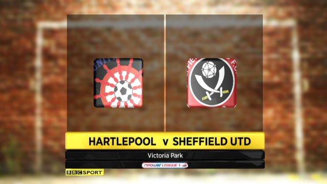 Hartlepool 0-1 Sheff Utd