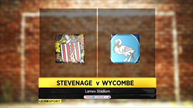 Stevenage 1-1 Wycombe