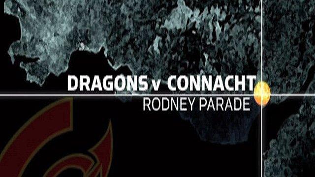 Newport Gwent Dragons 19-27 Connacht