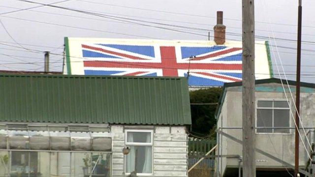 Port Stanley, the Falklands