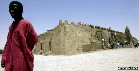 Mosque in Timbuktu