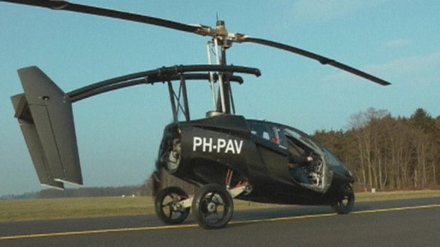 A Dutch company is launching a vehicle which can be driven on land, or flown in the air.