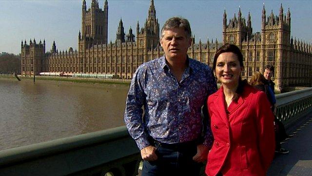 Sport Nation presenters John Beattie and Rhona McLeod