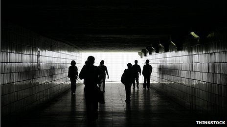 Group in tunnel