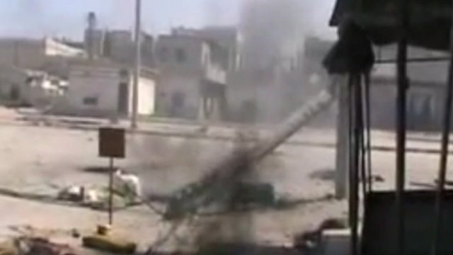 Still image believed to be of Homs