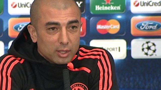 Chelsea interim boss Roberto Di Matteo