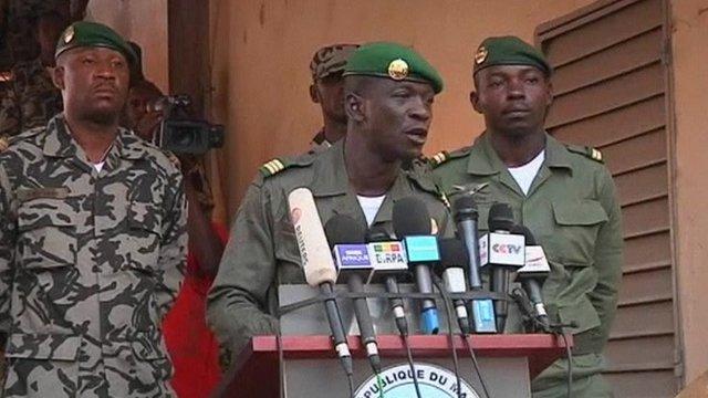Mali coup leader Capt Amadou Sanogo