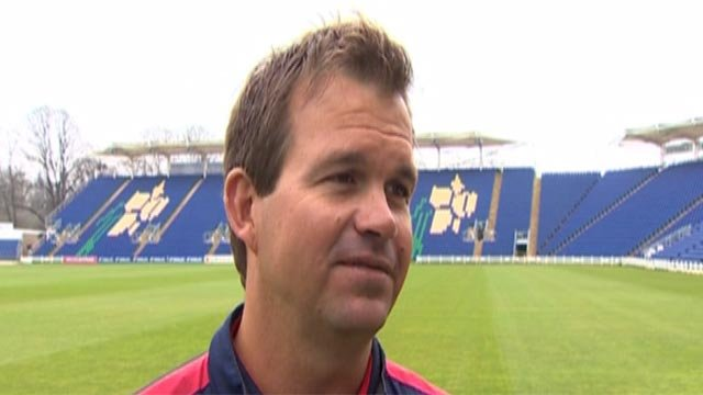 Glamorgan coach Matthew Mott