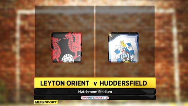 Leyton Orient 1-3 Huddersfield