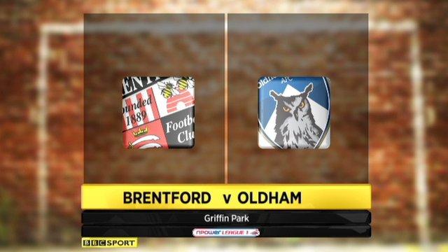 Brentford 2-0 Oldham