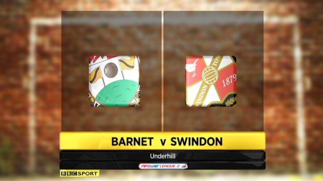 Barnet 0-2 Swindon
