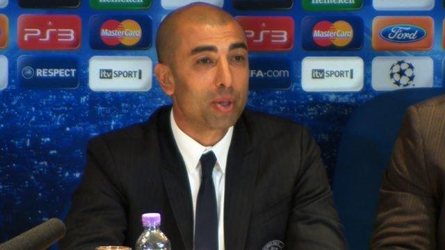 Interim Chelsea boss Roberto di Matteo
