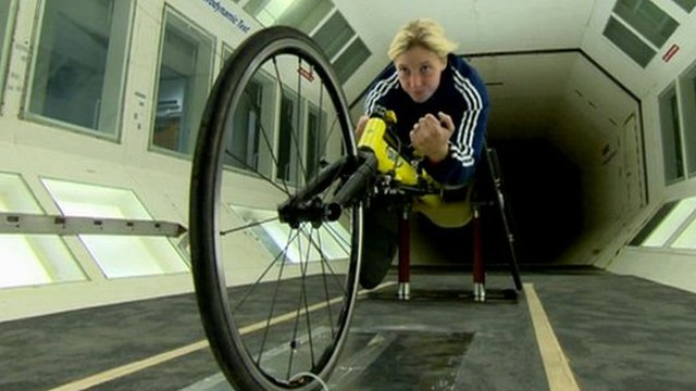 Paralympic athlete Shelly Woods