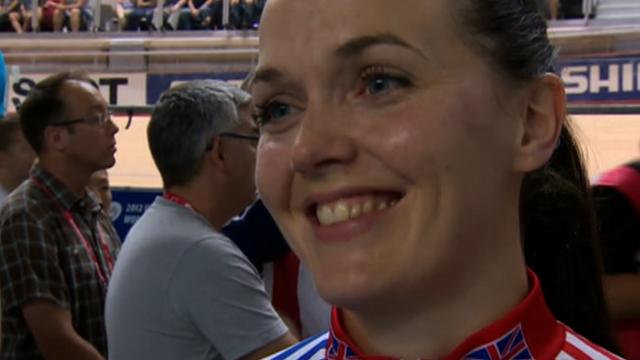 World sprint champion Victoria Pendleton