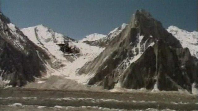 Siachen glacier, the Himalayas