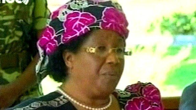 Malawi Vice-President Joyce Banda
