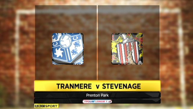 Tranmere 3-0 Stevenage