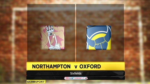 Northampton 2-1 Oxford
