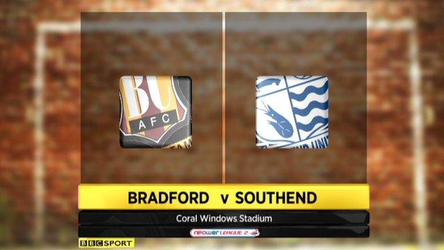 Bradford 2-0 Southend