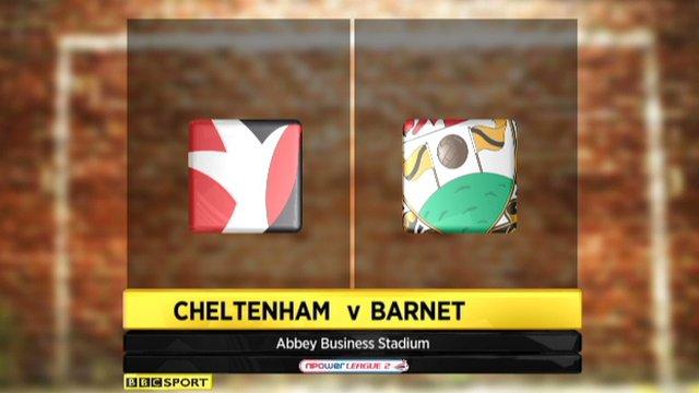 Cheltenham 2-0 Barnet