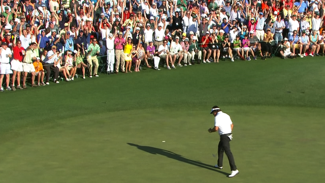 Three-time Masters champion Phil Mickelson