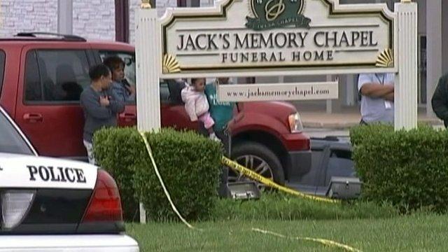 Scene of shooting in Tulsa