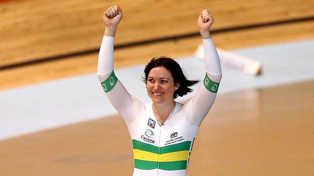 Australia's Anna Meares