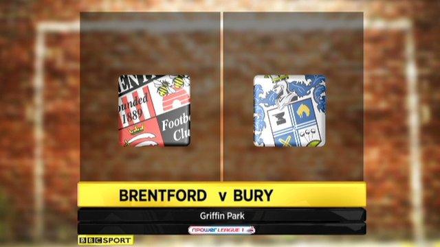 Brentford 3-0 Bury