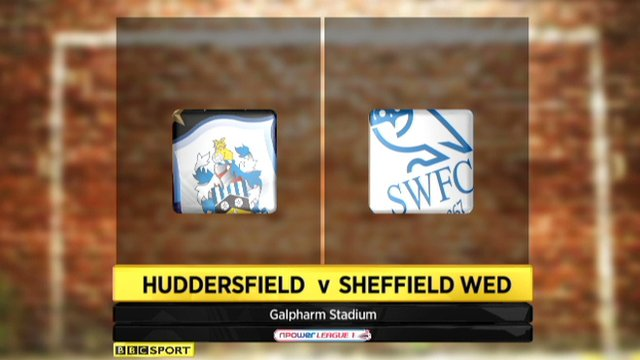 Huddersfield 0-2 Sheffield Wednesday