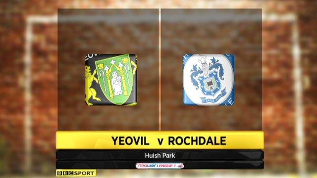 Yeovil 3-1 Rochdale